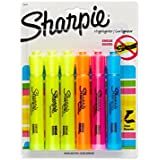 Sharpie Accent Tank-Style Highlighters, 6 Colored Highlighters (25876PP)