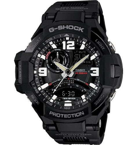 G-Shock GA-1000FC-1ACR Aviation Series Men's Stylish Watch – Black / One Size