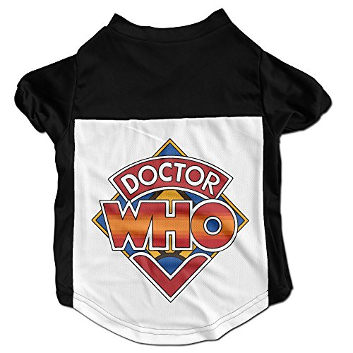 [CcElothe Doctor Who Pet Shirts Black Small] (Peter Capaldi Twelfth Doctor Costume)