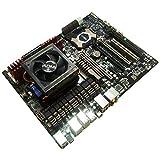 PRE-ASSEMBLED COMPONENT BUNDLE: AMD PILEDRIVER FX-9590 Vishera 8 Core 5.0GHz with FREEZER 13 High Performance CPU COOLER// Asus SABERTOOTH 990FX DDR3 USB3 ATX Motherboard // 8GB Corsair Vengeance LP DDR3 1600MHz RAM Memory // FULLY ASSEMBLED/PRE-CONFIGUR
