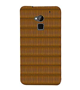 Sine Wave Pattern 3D Hard Polycarbonate Designer Back Case Cover for HTC One Max