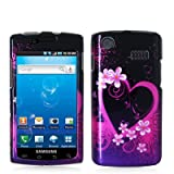 Samsung i897 Captivate Graphic Case - Purple Love