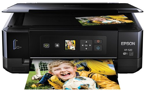 Epson Expression Premium XP-520 Wireless Color Photo Printer with Scanner and Copier (Epson Laser Color Printer compare prices)