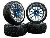 4x Onroad Reifen Felgen FR45 1/10 Custom !! Design/Farbe w�hlbar
