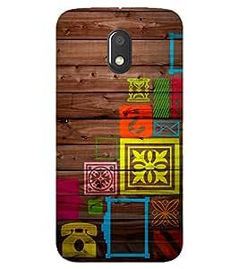 Doyen Creations Designer Printed High Quality Premium case Back Cover For Moto E3 Power / Moto E 3rd Generations / Moto E3 2016