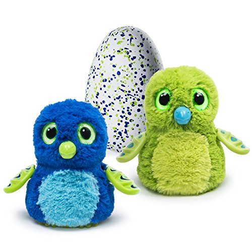 Hatchimals - Hatching Egg - Interactive Creature - Draggle - Blue/Green Egg...