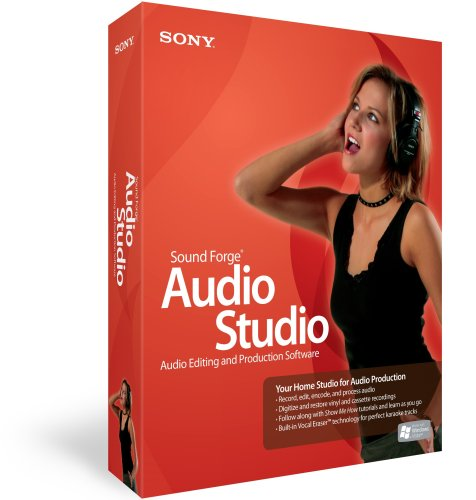 Sound Forge Audio Studio 9
