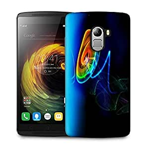 Snoogg Neon Circles Designer Protective Phone Back Case Cover For Lenovo Vibe K4 Note