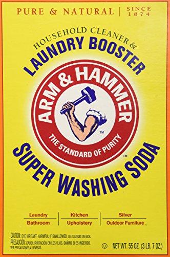 Church & Dwight Co 03020 Arm & Hammer Super Washing Soda 55 oz. (Super Baking Soda compare prices)