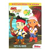 "Disney Jake And The Never Land Pirates ""Lets Go Crew"" 96 Pg Coloring & Activity Book # 861852"