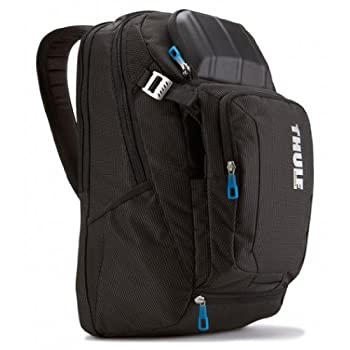 Thule Crossover TCBP-217 17-Inch Macbook/Pro/Air Laptop and iPAD Backpack (Black) TCBP-217 Backpack for 17