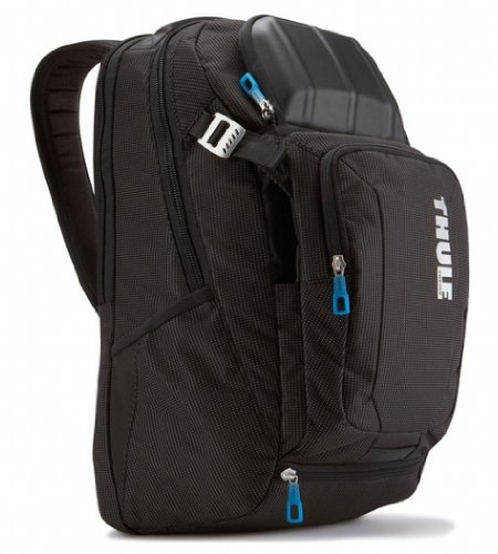 B004XANKVO Thule Crossover TCBP-217 Backpack for 17-Inch Ultrabooks/Macbook/Pro/Air Laptop and iPad (Black)
