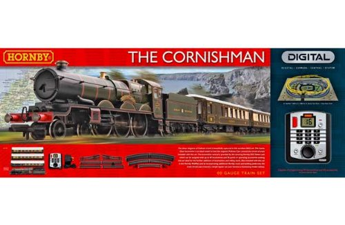 [HSB] Hornby R1160 The Cornishman Digital Train Set with HSB® Storage Bag
