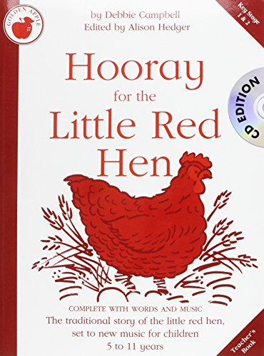 debbie-campbell-hooray-for-the-little-red-hen-teachers-book-cd