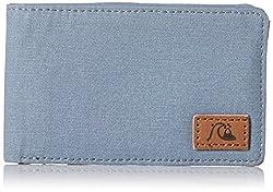 Quiksilver Men's Slimmer Cotton Wallet, Flint Stone, One Size