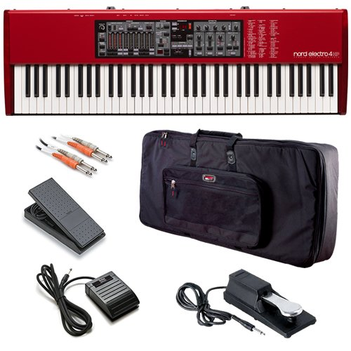 Nord Electro 4 HP BONUS PAK w/ Keyboard Bag Foot Pedals