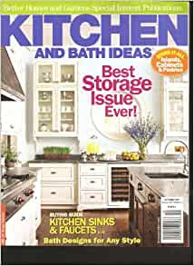Better homes and gardens kitchen and bath ideas magazine for Kitchen ideas magazine
