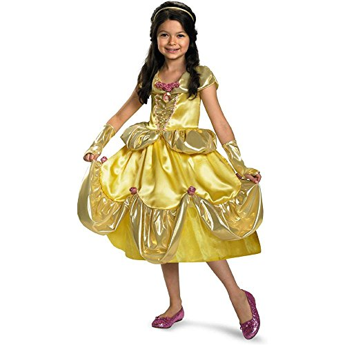 Disney Belle Deluxe Shimmer Toddler Costume - 3T-4T