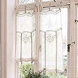 suchergebnis auf f r gardine landhaus gardinen vorh nge rollos wohnaccessoires. Black Bedroom Furniture Sets. Home Design Ideas