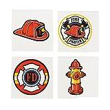 Firefighter Tattoos - 72 pcs