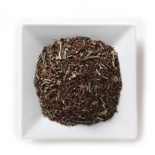Mahamosa Honeybush Cooler Tea 4 Oz, Loose Leaf Honeybush Herbal Tea Blend (With Lemongrass, Lemon Myrtle, Citrus, Tea)