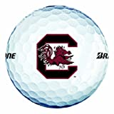 NCAA South Carolina Fighting Gamecocks Logo 2013 e6 Golf Balls (Pack of 12)