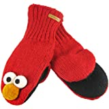Delux Knitwits Sesame Street Elmo Red Mittens
