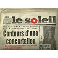 Le Soleil, Lundi 17 Mars 1997: Hillary Clinton a Dakar, PR IBOU DIAITE ET AUTRES ARTICLES