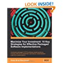 Maximize Your Investment: 10 Key Strategies for Effective Packaged Software Implementations