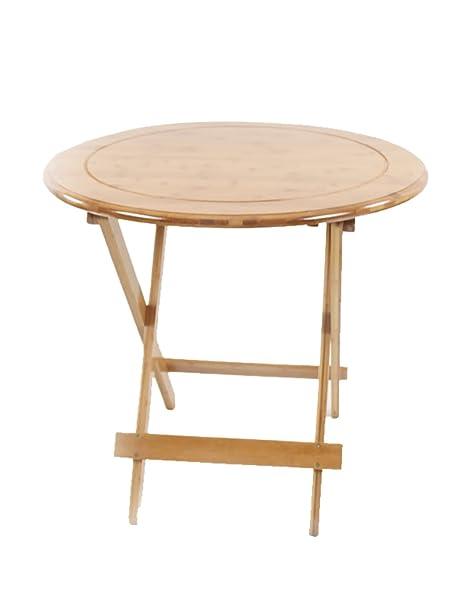 Mesa plegable simple mesa de aprendizaje Mesa plegable portátil al aire libre de bambú
