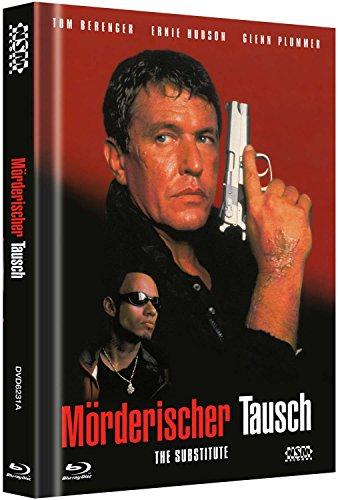 Mörderischer Tausch - The Substitute - Uncut [Blu-Ray+DVD] auf 333 limitiertes Mediabook Cover A