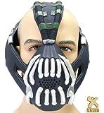 Bane Mask and Batman Bat Darts Replica Update Cosplay Prop for The Dark Knight Rises Accessory Xcoser