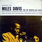 MILES DAVIS & MODERN JAZZ GIANTS vinyl record