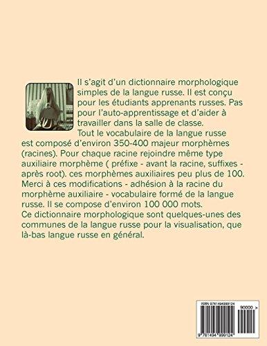 dictionnaire morphologique Russe-Français: morphologique dictionnaire sélectionnés mots russes de la transcription et de la traduction: Volume 2 (morphological dictionaries)