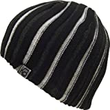 Alki'i-Ribbed-heavy-gauge-mens-womens-warm-beanie-snowboarding-winter-hats---Black