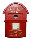 Handcrafted D Letterbox Red Bird House Nest Nesting House Antique London Postal Box
