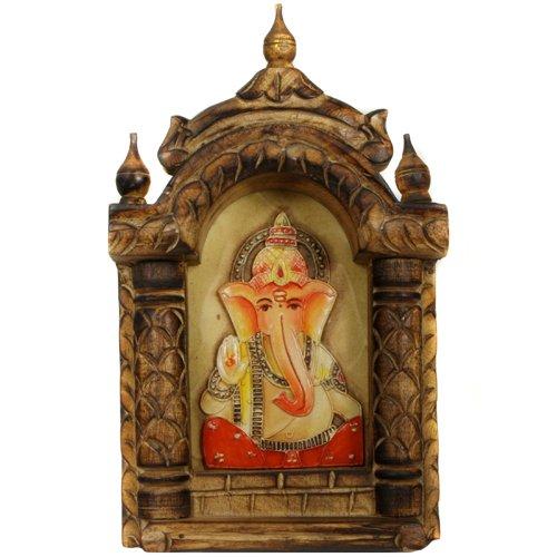 Handmade Ganesh Painting in Jharokha