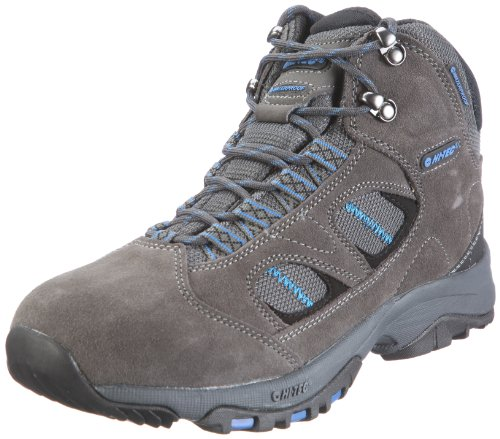 Hi-Tec Men's Pine Ridge Wp Dark Grey/Graphite/Cobalt Hiking Boot O001400/021/01 10 UK