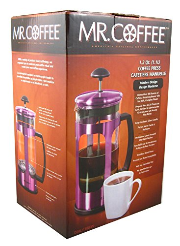 Mr. Coffee Coffee Press Cafetiere Manuelle