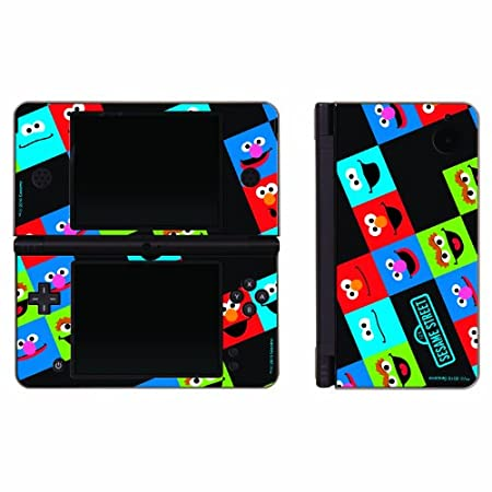 Nintendo DSi XL Sesame Street Friends 3 Piece Decal Set