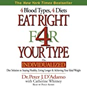 Eat Right for Your Type | [Peter J. D'Adamo, Catherine Whitney]