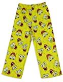 Nickelodeon - Boys Sponge Bob Pajama Pants, Yellow