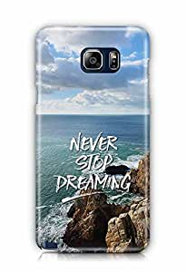 YuBingo Never Stop Dreaming Designer Mobile Case Back Cover for Samsung Galaxy Note 5