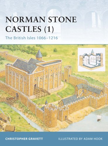 Christopher Gravett  Adam Hook - Norman Stone Castles (1)
