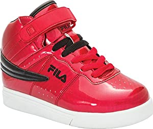 Fila Children's Vulc 13 Windshift,Fila Red/Black/White,US 4 M