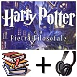 Harry Potter e la pietra filosofale: (t.1) Audiobook PACK [Book + 2 CDMP3] (Italian Edition)
