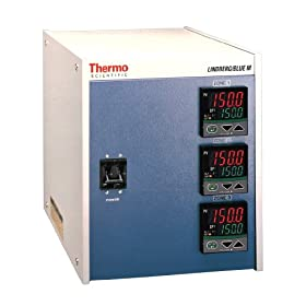 Thermo Scientific CC58434PC-1 Lindberg/Blue M Three Zone Console Programmable Furnace Temperature Controller for Center Zone with Over-Temperature Controller, 240V, For Lindberg/Blue M 1500 Degree C Box Furnaces and 1200 Degree C Tube Furnaces