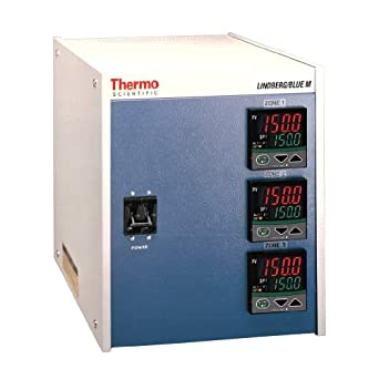 Thermo Scientific CC584343PC-1 Lindberg/Blue M Three Zone Console Programmable Furnace Temperature Controller with Digital Display, 240V, For Lindberg/Blue M 1500 Degree C Box Furnaces and 1200 Degree C Tube Furnaces