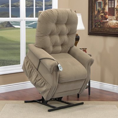 25 Series 3 Position Lift Chair Upholstery: Aaron - Light Brown Moveable Infrared Heat: No Vibration and Heat: None