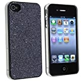 "Slabo Hardcase Case Schutzh�lle f�r Apple iPhone 4s | iPhone 4 - ""Bling Strass Diamant"" - SCHWARZ 